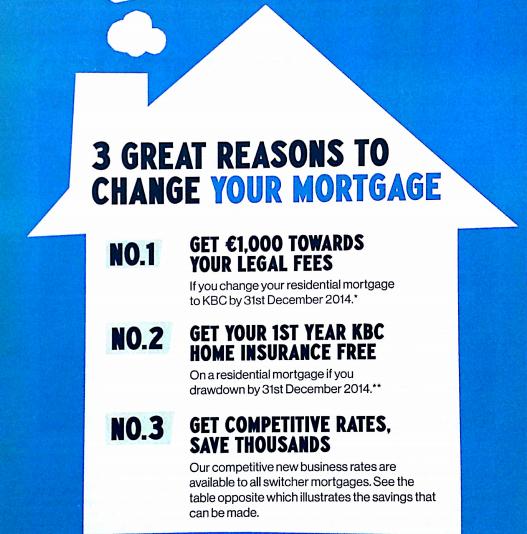kbc mortgage deals